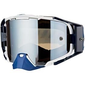 Leatt Velocity 6.5 Anti Fog Mirror Gafas, azul/blanco
